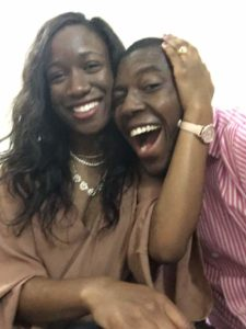 Cavil and Itoro immediatly after the engagement