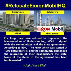 Akwa Ibom Is The Reason ExxonMobil Laughs Off The Demands of Akwa Ibom