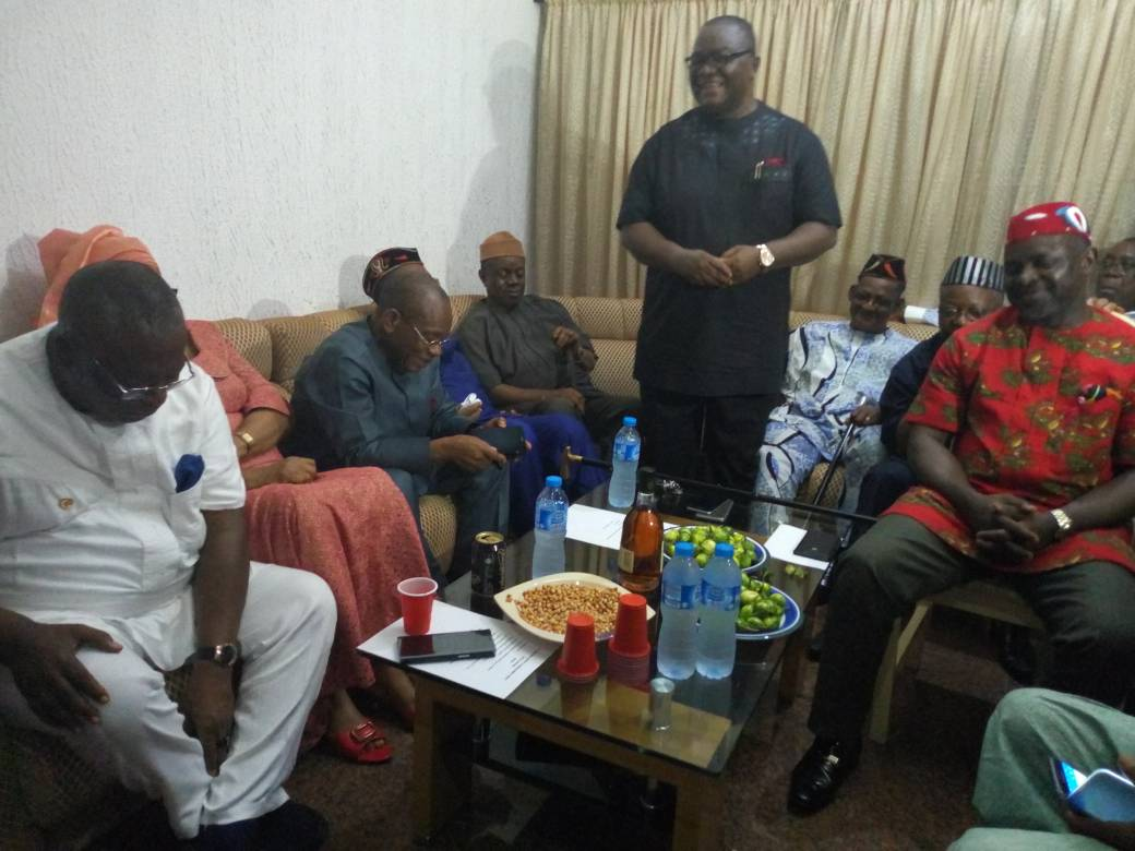 Photo of 2019: EKET LEADERS CONSULT UYO FOR GOV UDOM'S RE-ELECTION