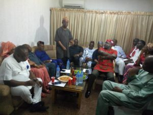 2019: EKET LEADERS CONSULT UYO FOR GOV UDOM'S RE-ELECTION