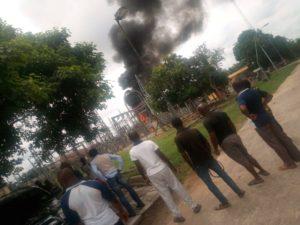 Afaha Ube Fire outbreak