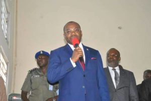 Photo News: Governor Udom Emmanuel Meet Etim Ekpo and Ukanafun… Townhall