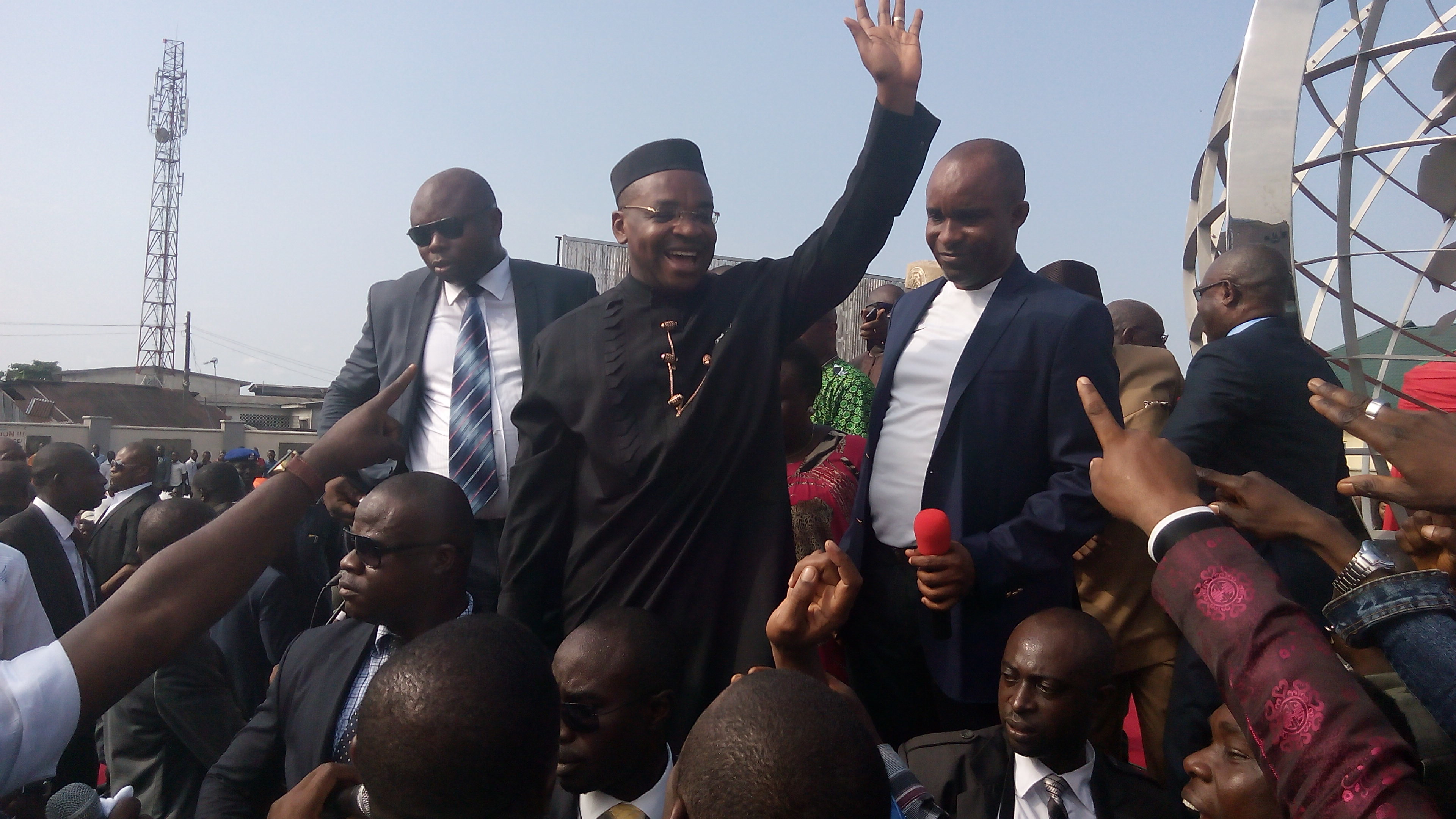 Akwa Ibom Youth and Udom Emmanuel