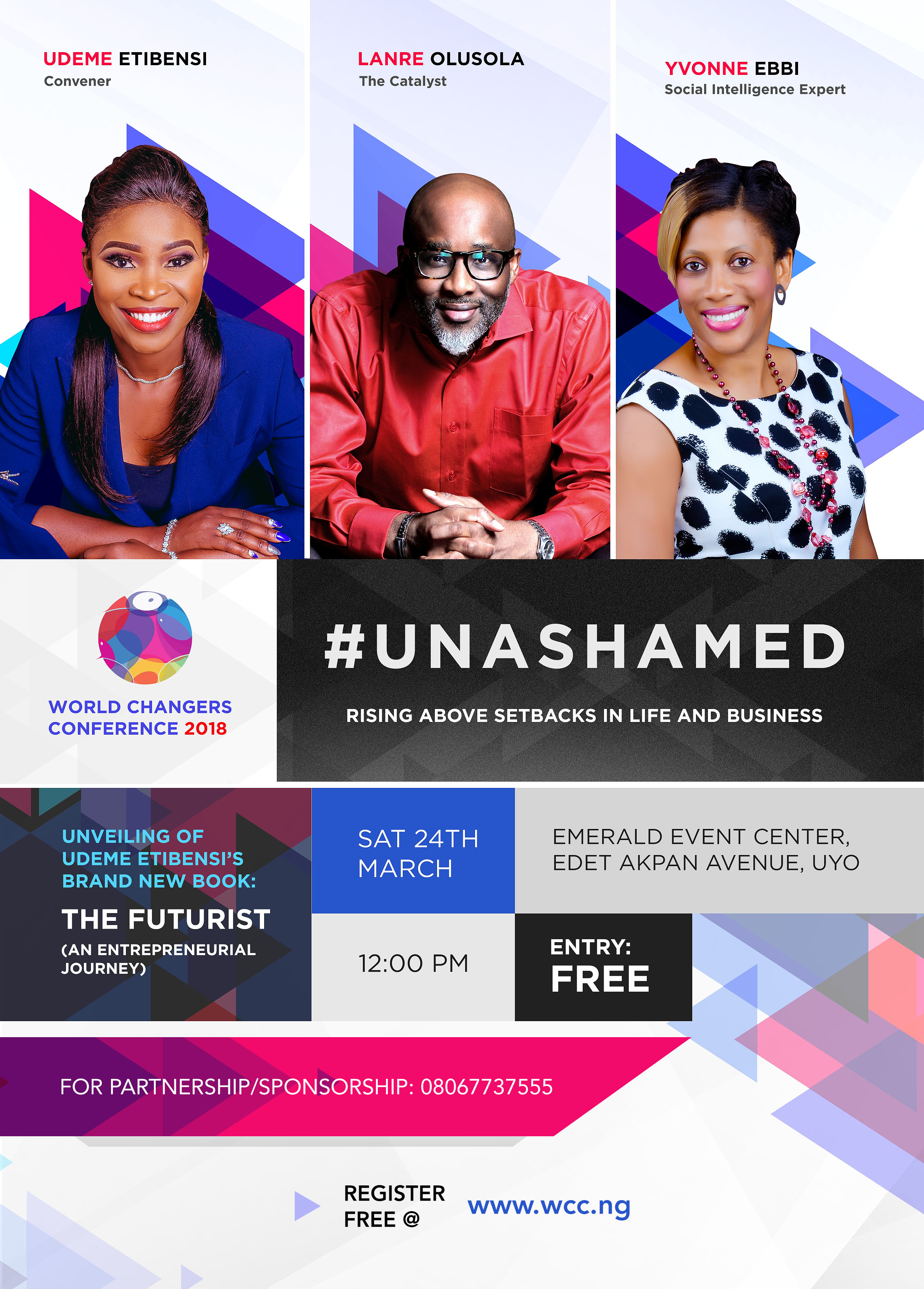 Meet The Speakers of World Changers Conference holding this Saturday in Uyo