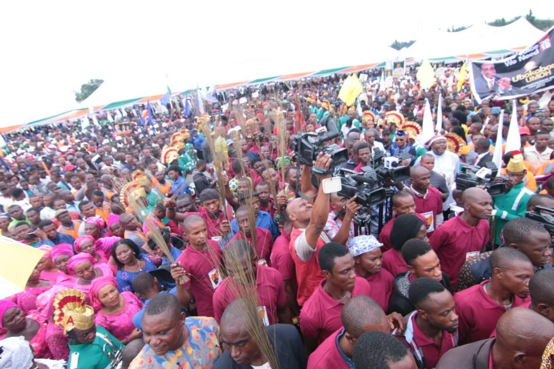 Rt. Hon. Chief Sunny Udom DG, Akwa Ibom APC Campaigns 2015