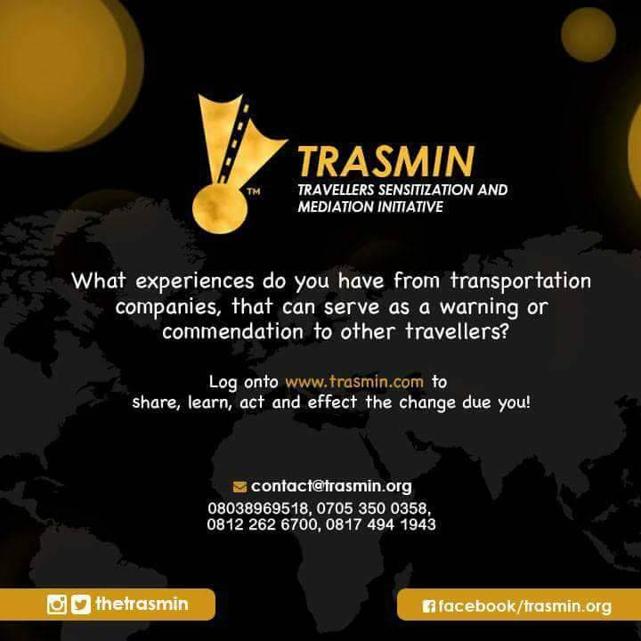 TRASMIN is the acronym for Travelers Sensitization and Mediation Initiative