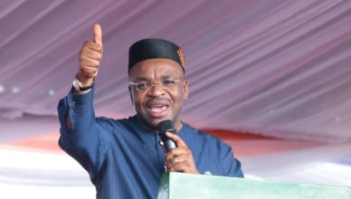 Governor Udom Emmanuel of Akwa Ibom State leads Ekiti State Governorship Campaign Council for the PDP.