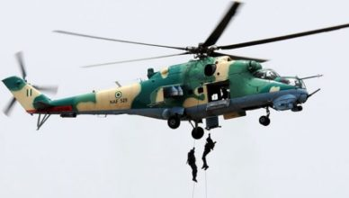 Chief of Air Force, Air Marshall Sadiq Abubakar, has promised to send four attacking and one training aircraft in Enugu to tackle security problems in South East. Air Marshall Abubakar disclosed this during a groundbreaking and foundation laying ceremony of Air Force ground training command, GTC, complex headquarters in Enugu, yesterday. He disclosed that the purpose of Air Force training command complex in Enugu was to reposition the Nigerian Air Force to tackle insurgency in the country. Commending Governor Ifeanyi Ugwuanyi for his effort at restoring peace and unity in the state, he pointed out that the establishment of training complex would add value to the security of life and property in the country. Abubakar said that the Force had planned to increase the recruitment of officers from 1,000 personnel per year to 1500 personnel in every six months. He also lauded the Federal Government for increasing the number of aircrafts from 15 to 18 aircraft and promised to use it to beef up the security issues in the country. Governor Ifeanyi Ugwuanyi, during the foundation laying ceremony, lauded the Nigerian Air Force for establishing Air Force training ground complex in Enugu. Gov Ugwuanyi pledged to give the Air Force all the necessary support needed to ensure that the ground training headquarters in Enugu works out so as to add value to fighting crime. Earlier in an opening remark, the ground commanding officer, Vice Air Marshal, Samson Akpasha, disclosed that the ground training complex in Enugu is one of the six training commands established to implement local ground training policies and technical ground training for Nigerian Air Force. Akpasha also disclosed that the command has trained over 1,000 regiment personnel including 450 special force personnel with battlefield inaction and extraction capacity within one year which has been instrumental in the reduction of insurgency in the country. He also said the Air Force had transited into a highly professional and