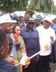 JUBILATION IN UYO AS GOV EMMANUEL INAUGURATES 3 ROADS Udom