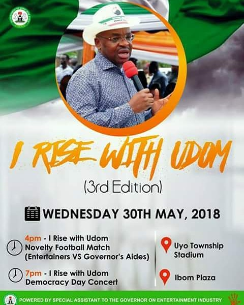 I rise with Udom