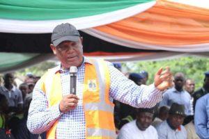 Governor Udom Emmanuel flags off Abak ten road