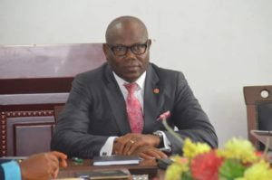 COMMISSIONER FOR HOUSING AND SPECIAL DUTIES MEETS NEW MANAGEMENT OF THE IBOM SPECIALIST HOSPITAL