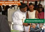 Governor Udom Emmanuel Education in Akwa Ibom state