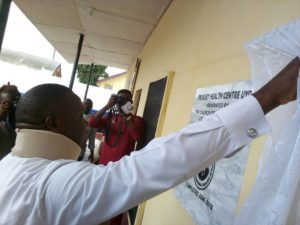 Photo News: Uyo Council Boss Commissions Primary Health Centres With fully equipped Lab