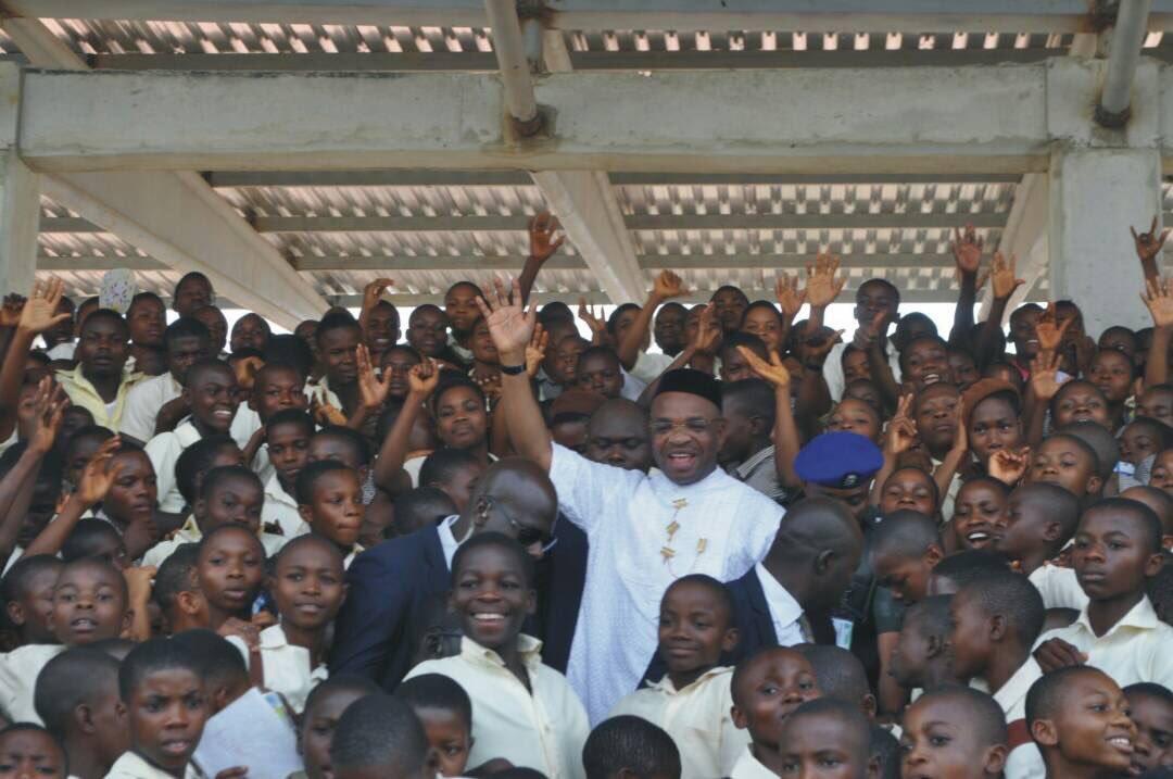Governor Udom Emmanuel Education in Akwa Ibom state