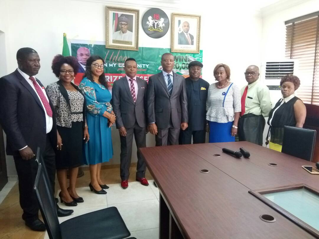 GOV UDOM SCORES HIGH ON POSITIVE YOUTH ENGAGEMENT