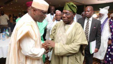 OBJ with Atiku Abubakar.