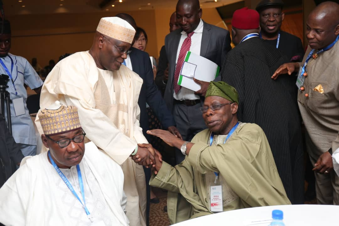 OBJ with Atiku Abubakar.