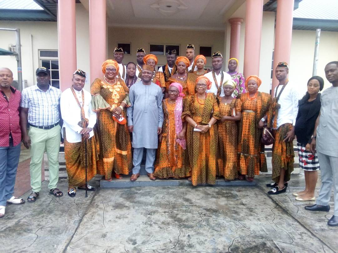 Utom chairman Imoh Okon and Calabar community