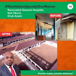 A MUST READ: 10 Ways Udom Is Spending Akwa Ibom Money… Graphics