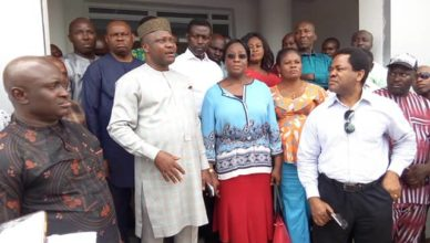 Uyo LGA Boss Inaugurates Revenue C'ttee Units
