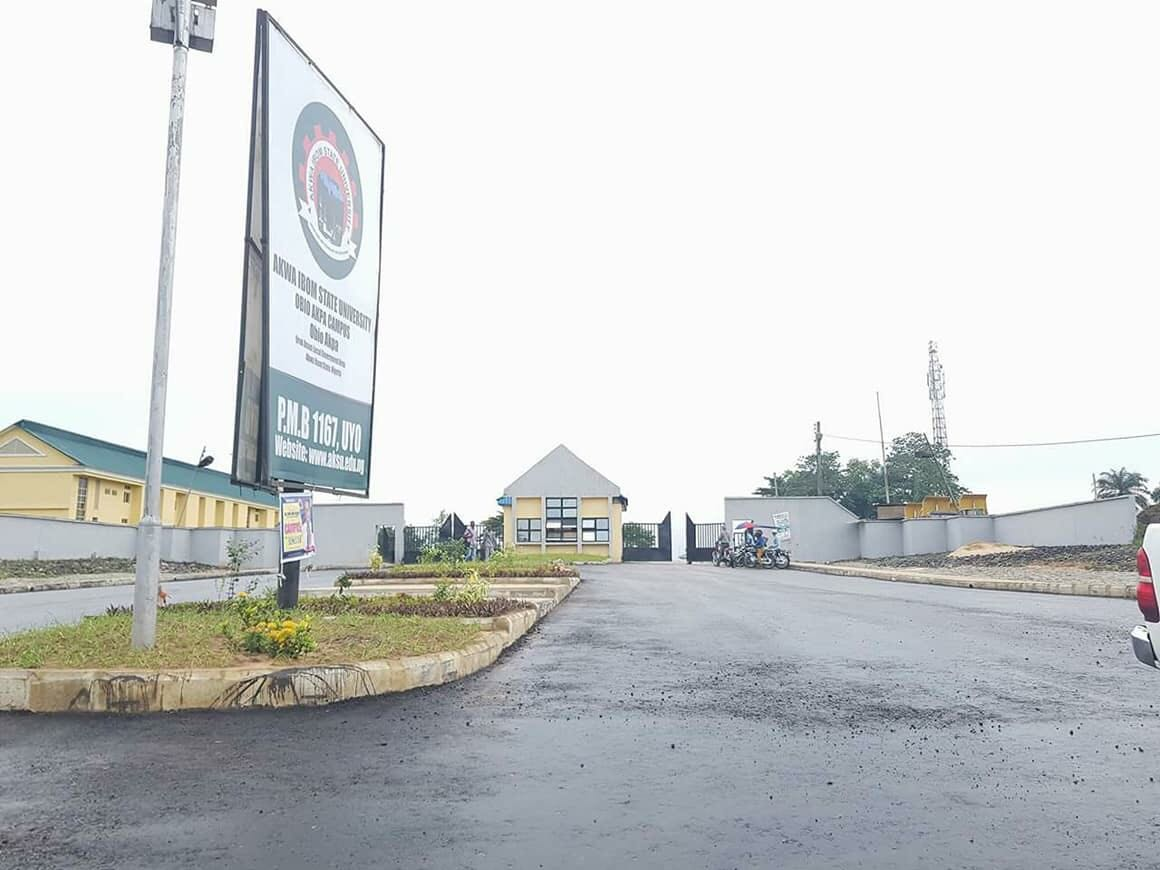 SEE HOW SWEET AKSU, OBIO AKPA CAMPUS LOOKS!!!