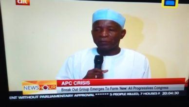 APC sinks as new factional group emerges as Reformed All Progressive Congress (rAPC), vowed to unseat President Buhari.