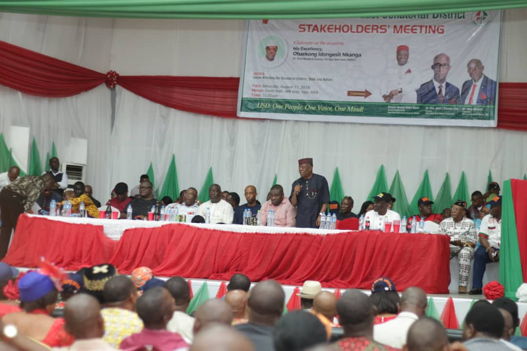 COMMINIQUE ISSUED AT AN ENLARGED MEETING OF AKWA IBOM NORTH-EAST (UYO) SENATORIAL DISTRCT STAKEHOLDERS