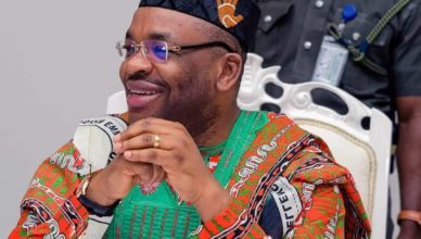 GOVERNOR UDOM EMMANUEL'S PROJECTS IN ORUKANAM