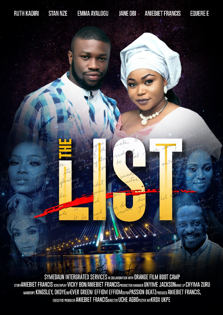 The movies the list by Aniebiet Francis