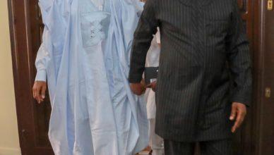 Former President, Goodluck Jonathan, on Wednesday hailed Senate President, Bukola Saraki