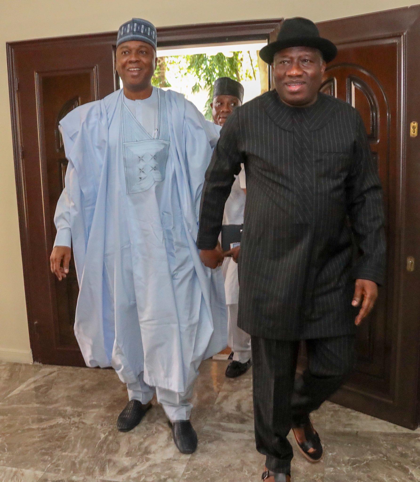 Photo of Jonathan lauds Saraki's leadership of National Assembly