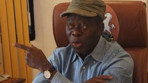 Impeachment Mission: Oshiomhole, APC Senators meet to plot Saraki's fall