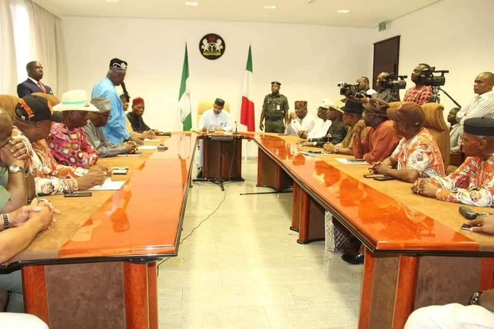 Senator Akpabio's Fathers Re-Affirm Support to Gov Emmanuel