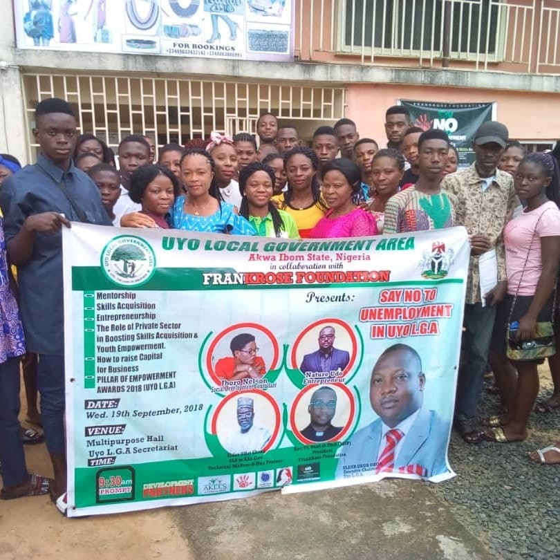 UYO LOCAL GOVERNMENT COUNCIL AMBUSHES UNEMPLOYMENT