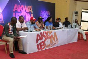 What Ini Edo Said During #AkwaIbomTalentShowcase Press Conference in Uyo