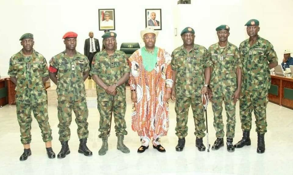 AKWA IBOM HAS LOWEST CRIME RATE IN NIGERIA –ARMY GENERAL