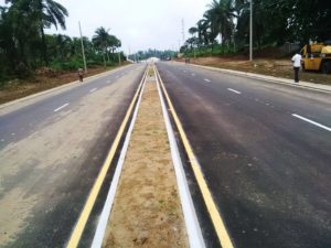 UYO-IKOT EKPENE ROAD: ANOTHER MOUNTAIN OF CONTROVERSIES LEVELLED BY GOV. UDOM EMMANUEL