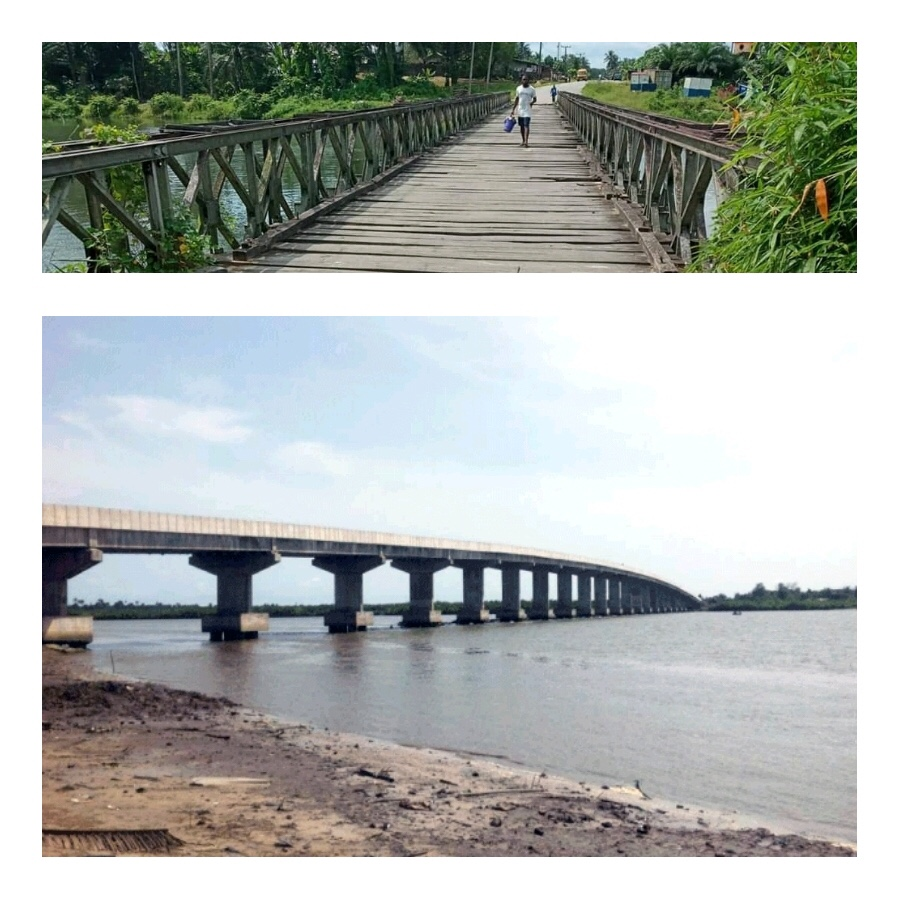 Photo of PHOTO: A Tale of Two NDDC Bridges