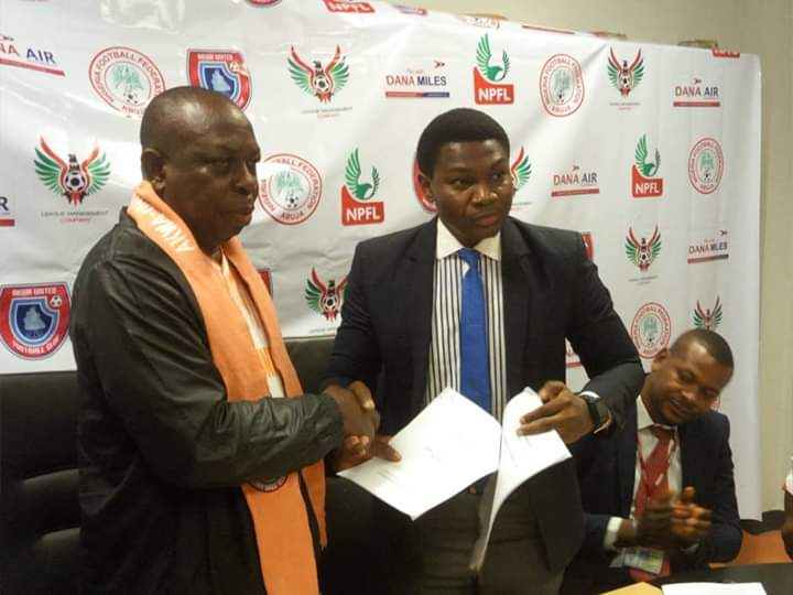 Akwa Utd, Dana Air renew deal