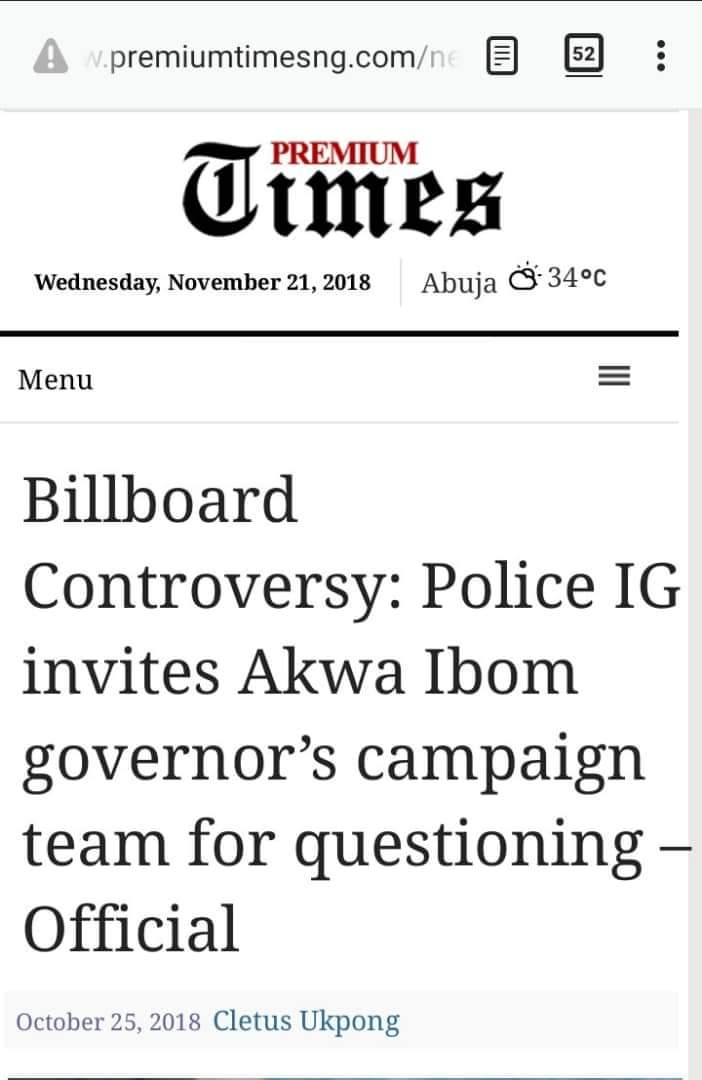 AKWA IBOM AS IG'S PLAYGROUND