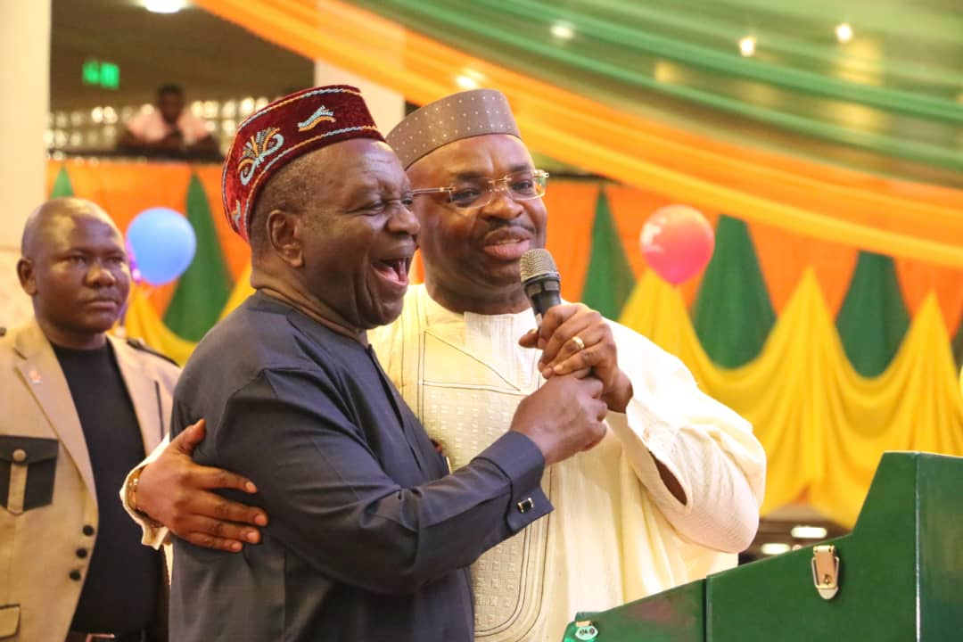 Governor Udom and Attah