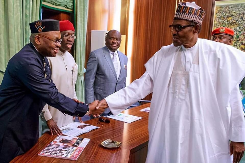 News: President Buhari hails Gov Emmanuel's industrialization drive