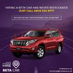 How Hire Beta Car