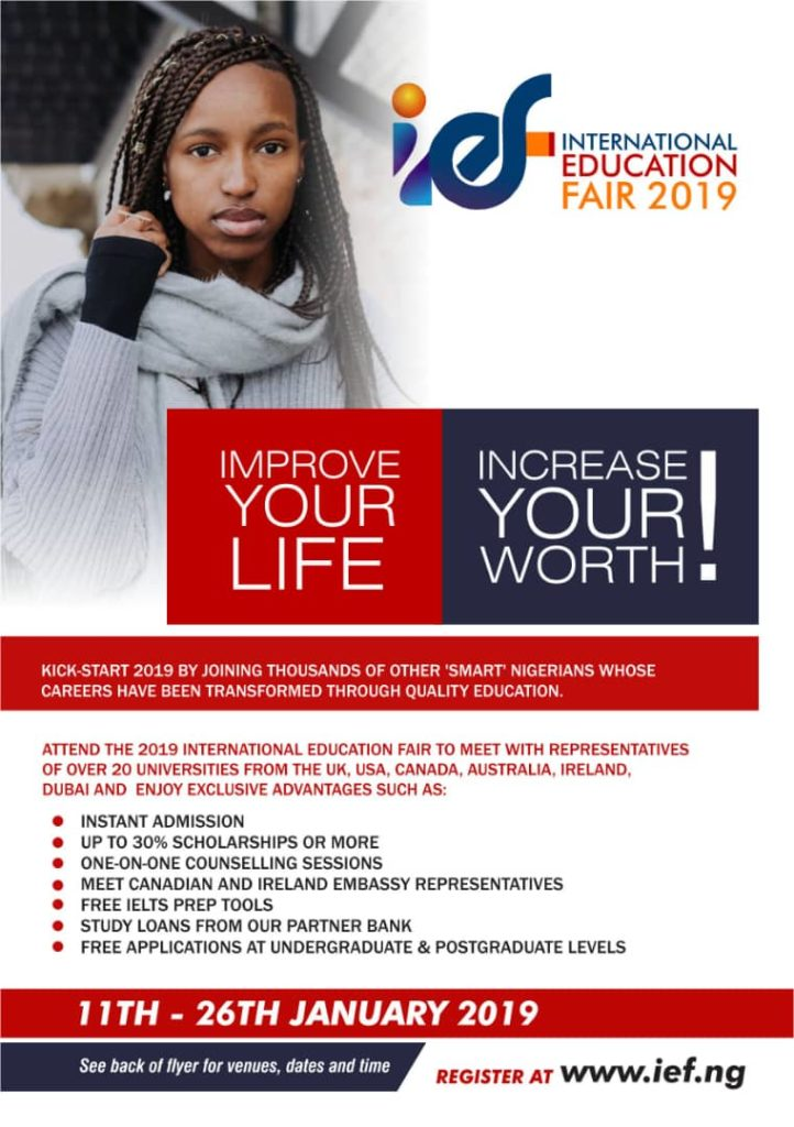 Attend the 2019 International Education Fair
