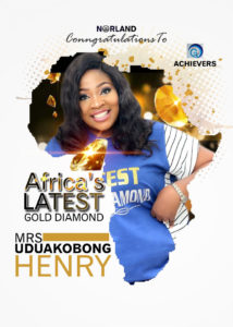 NIGERIAN WOMAN CLICKS AFRICA'S LATEST GOLD DIAMOND IN NORLAND