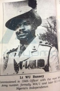 THE FIRST PERSON TO REGISTER IN THE NIGERIAN ARMY WAS AN AKWA IBOM MAN