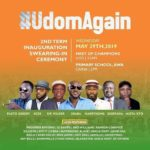 Entertainers for Udom 2019 Inauguration ceremonies