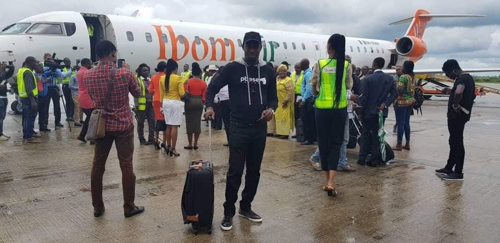 Photo of IBOM AIR COMMENCES COMMERCIAL AIRLINE OPERATIONS