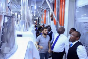 AKPABIO VISITS KINGS FLOUR MILL AHEAD OF TEST RUN